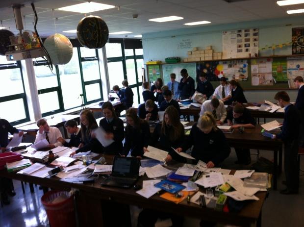 Organising revision